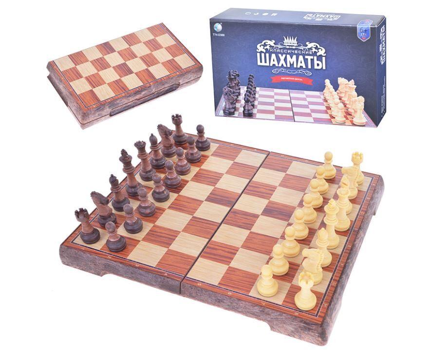 """Магнитная игра """"Классические шахматы"""", доска 24×24 см ..."""